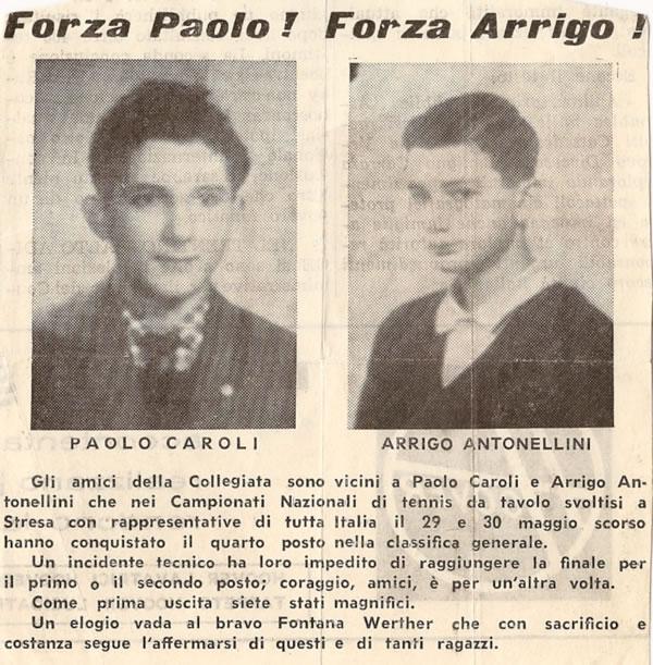 1964 forza Paolo forza Arrigo